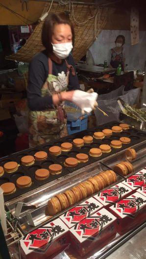 Hanazono Festival Street Food - 'Pancake'
