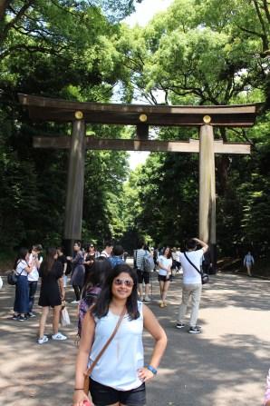 Meiji Shrine Entrance