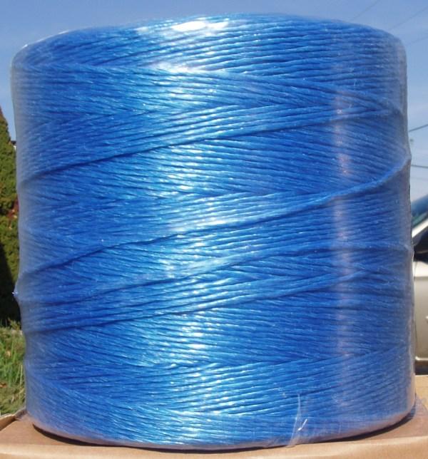 POLY-CTBLUE: 1250' BLUE POLY CHRISTMAS TREE TWINE