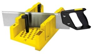 Stanley Clamping Mitre Box and Saw