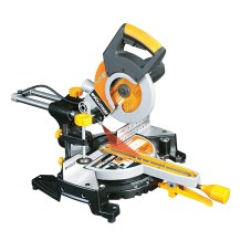 Evolution RAGE3-S300 230 V Multi-Purpose Sliding Mitre Saw, 210 mm