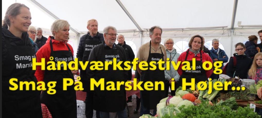 SE VIDEO: Håndværksfestival og Smag På Marsken i Højer