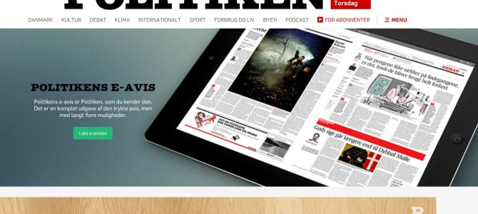 JP/Politikens Hus lancerer nyt dagblad til erhvervslivet