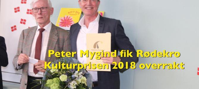 PODCAST/VIDEOCLIP: Rødekro Kulturpris gik til Peter Mygind