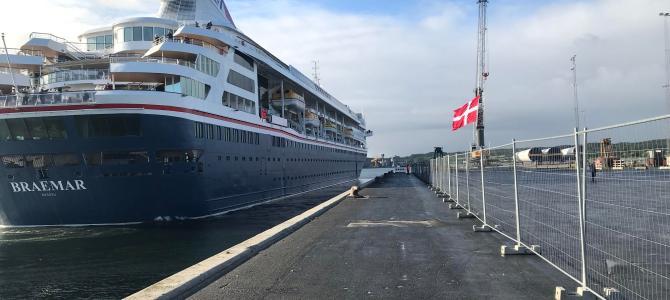SE FOTOS – Aabenraa: Krydstogtskib på kort visit
