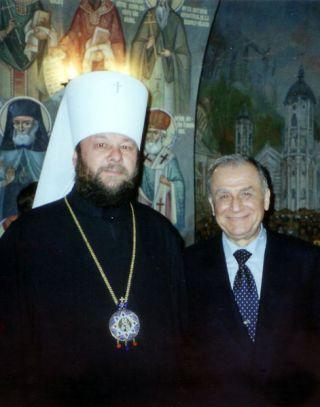 7 februarie 2001. Alături de Președintele României, dl. Ion Iliescu