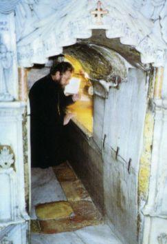 Rugăciuni La Mormântul Domnului pentru Moldova