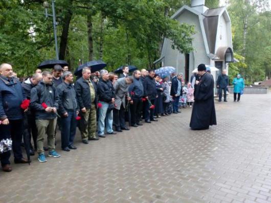 День ветеранов боевых действий отметили в Санкт-Петербурге