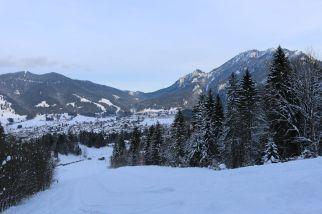 Blick auf Oberammergau