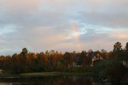 abendlicher Regenbogen