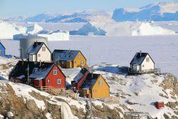 bunte Häuser in Uummannaq