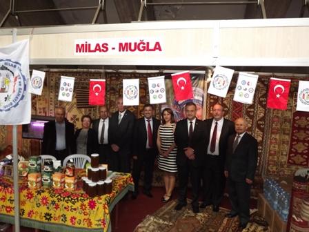 6. Ege İlleri Tanıtım Etkinliği Ankarada yapıldı.
