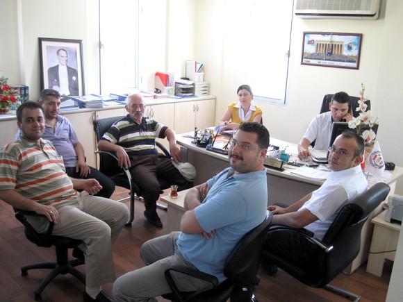 7 Nolu Meslek Komitesinin Ekim Ayı Toplantısı Yapıldı