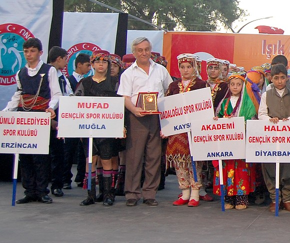 Milasın ev sahipliği yaptığı, Türkiye Halk Oyunları Federasyonu Yıldızlar Türkiye Şampiyonası yapıldı.