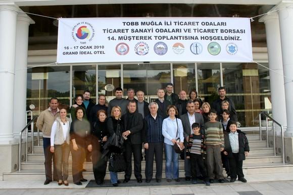 MİTSO Yönetim Kurulu Marmaris Toplantısına Aileleriyle Katıldı