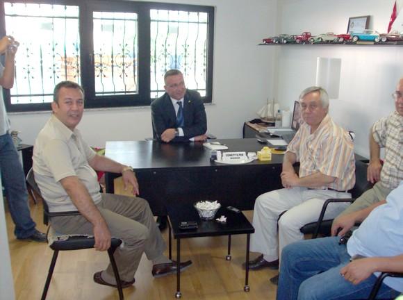 MİTSOdan, Vakıfbank Milas Şube Müdürüne kutlama ziyareti