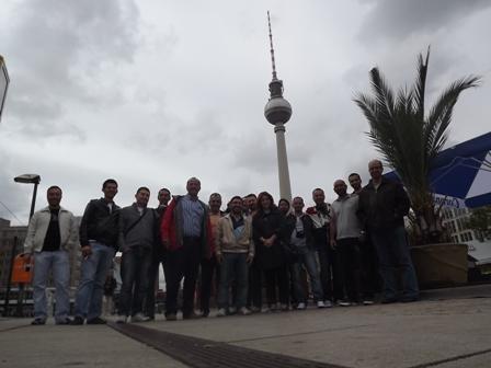 MİTSOnun AB  Leonardo ihracatçı eğitimi Berlinde yapıldı. 16 KİŞİYE ALMANYADA 2 HAFTA İHRACAT EĞİTİMİ VERİLDİ