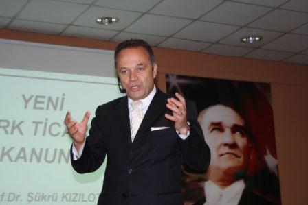 Prof. Dr. Şükrü Kızılot MİTSOnun konuğu olarak yeni Türk Ticaret Kanununu anlattı: DEĞİŞMEZSE BU KANUNLA BU TİCARET YÜRÜMEZ