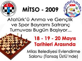 Satranç Turnuvası Bugün başlıyor…