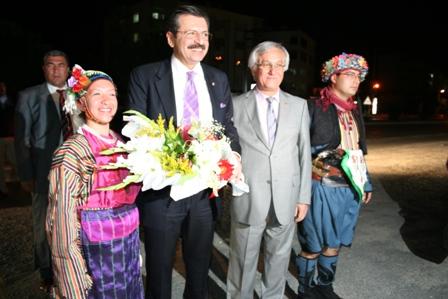 TOBB Başkanı Hisarcıklıoğlunun MİTSOyu ziyareti sırasında verilmişti.