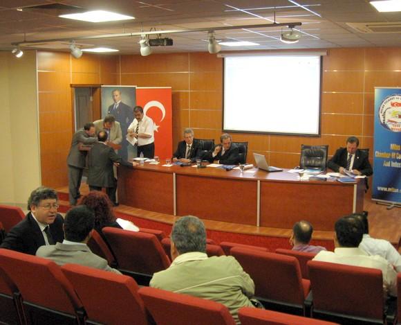 Turizm Sektör Temsilcileri Labranda konferans salonunda seçildi.