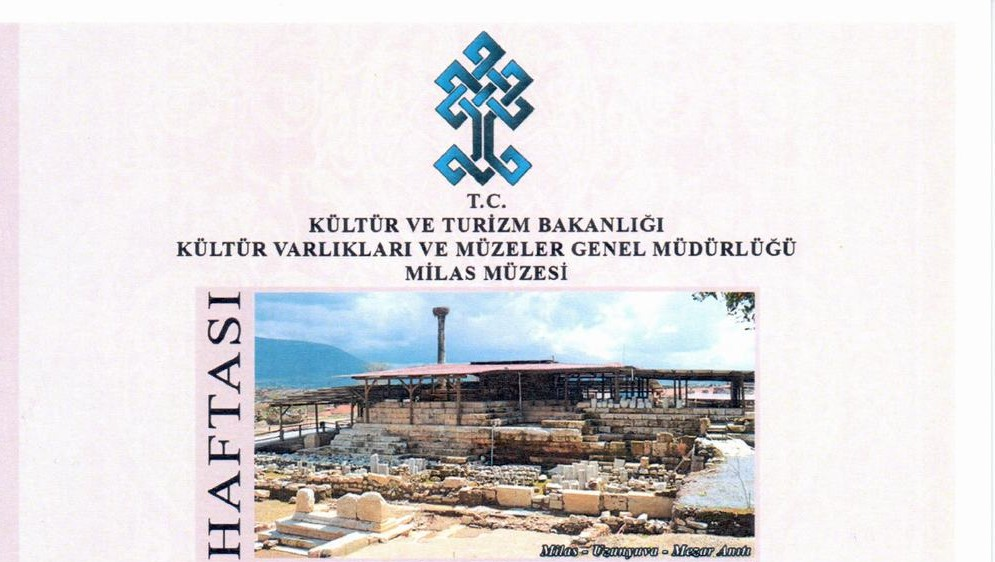 """18 / 24 Mayıs Müzeler Haftası kutlanıyor:  """"MİLAS'IN HAZİNELERİ"""" MİTSO'DA"""