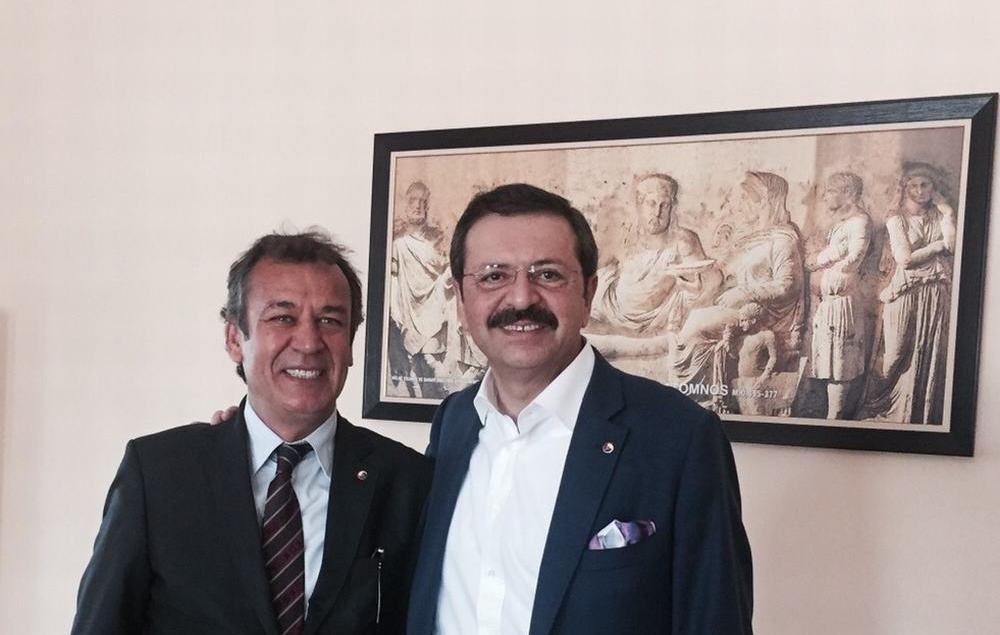 """TOBB Başkanı Rifat Hisarcıklıoğlu'ndan çağrı: """"DAHA GÜVENLİ TİCARET ORTAMI İÇİN KAREKODLU ÇEK KULLANALIM"""""""