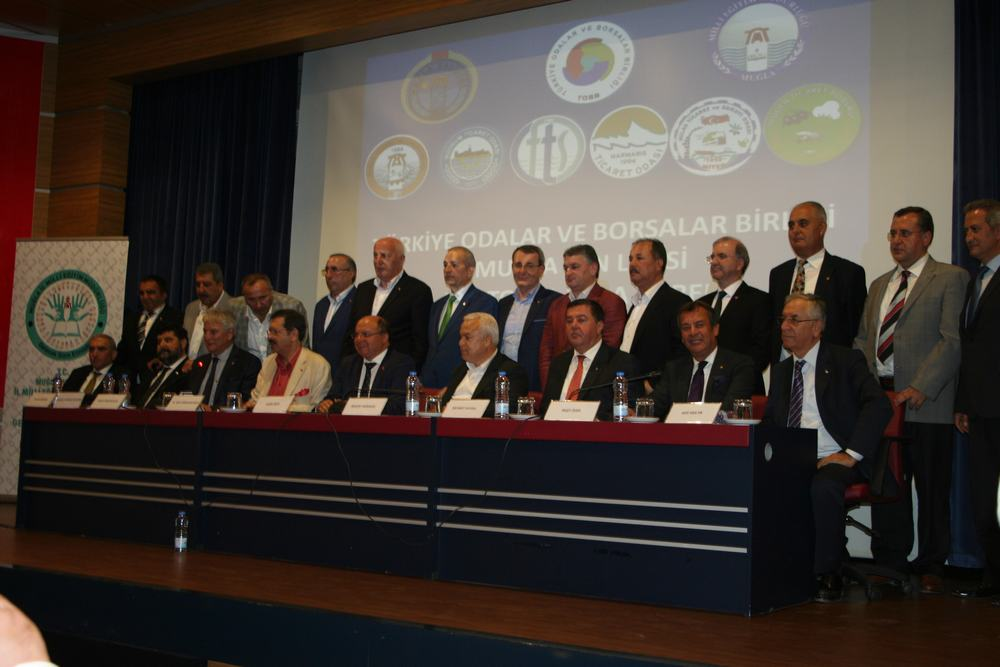 TOBB Başkanı Hisarcıklıoğlu Muğla'da.  TOBB ve TOBB ÜYESİ MUĞLA ODALARI FEN LİSESİ YAPTIRACAK.