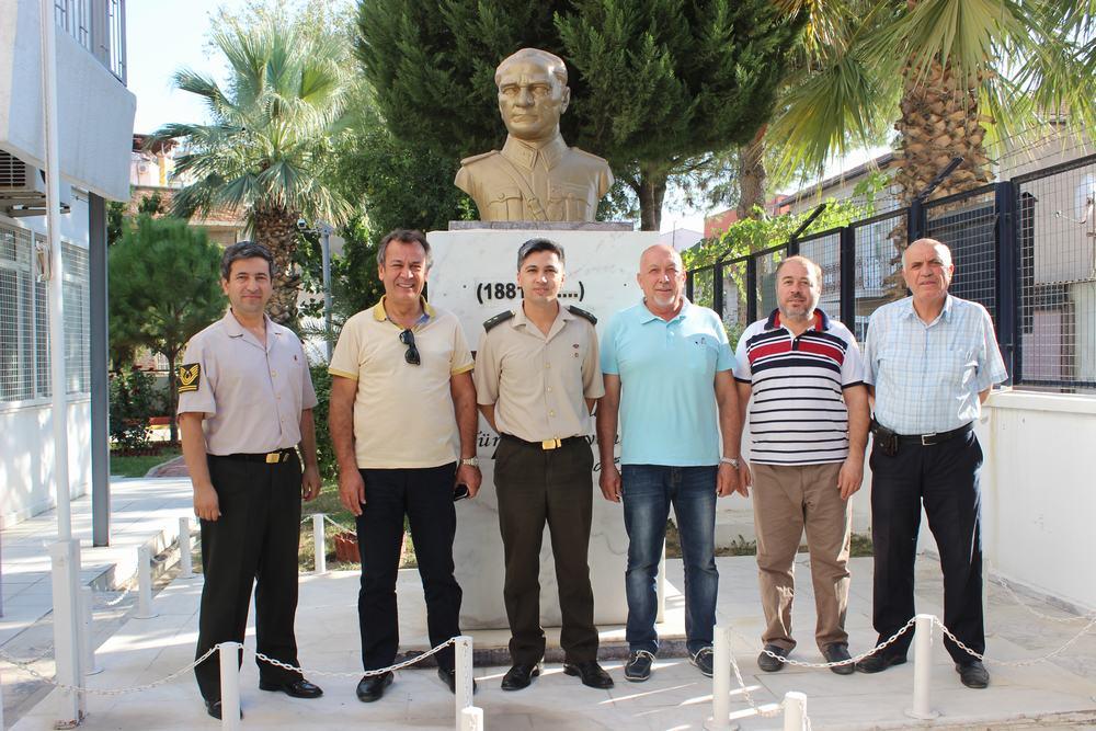 MİTSO Yönetimi Askerlik Şubesi Başkanı Tgm. İsmail Can'ı ziyaret etti.