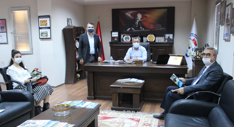 Milas Sosyal Güvenlik Merkezi Müdürü MİTSO'da… SİGORTALILIK KURALLARINA UYANLAR TEŞVİKLERDEN YARARLANABİLİR
