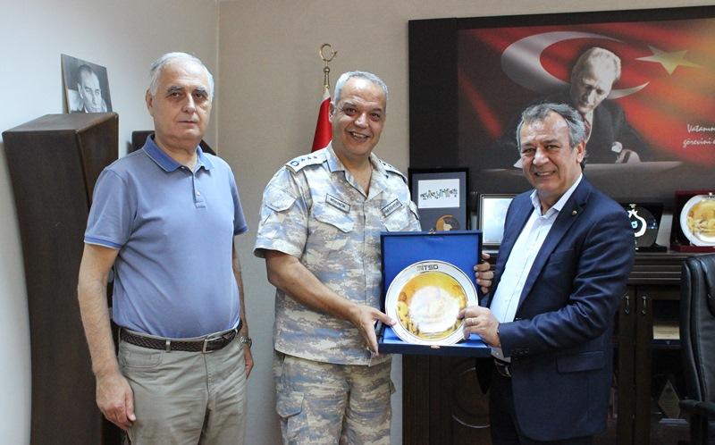 """Garnizon Komutanı Albay Mersincik MİTSO'da… """"MİLAS ÇOK ŞANSLI"""""""