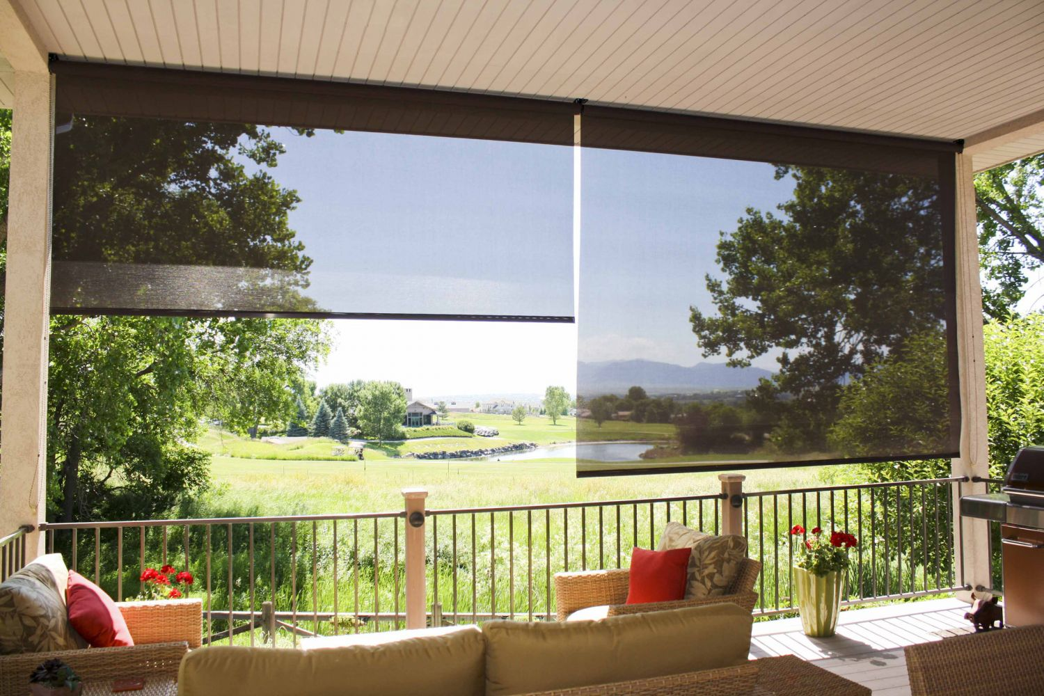 when buying exterior patio shades