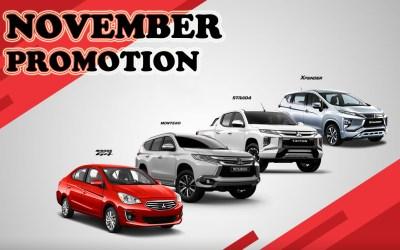Mitsubishi November 2020 Promotion