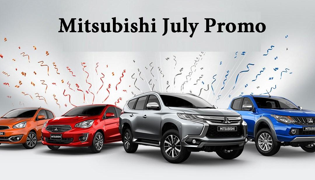 Mitsubishi July 2021 Promotion