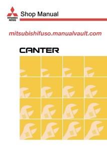 1997-2007 Mitsubishi FUSO Canter FE, FB (EUROPE) Truck Service Manual PDF Download