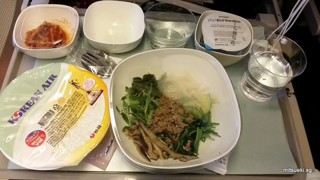 Korean Air Economy Class Food