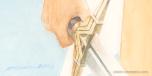Signature: Wonder Woman 420 × 594mm Watercolor on Sirius Watercolor paper illustration board.