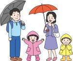 梅雨の季節、子どもとの過ごし方