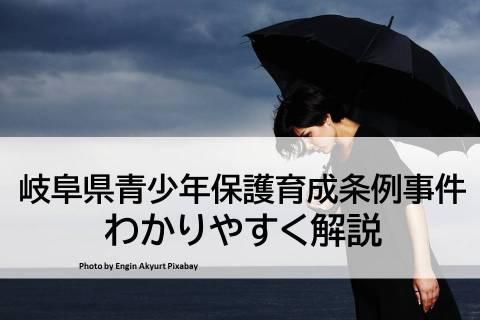 【岐阜県青少年保護育成条例事件】わかりやすく読み解く「性表現」と「表現の自由」