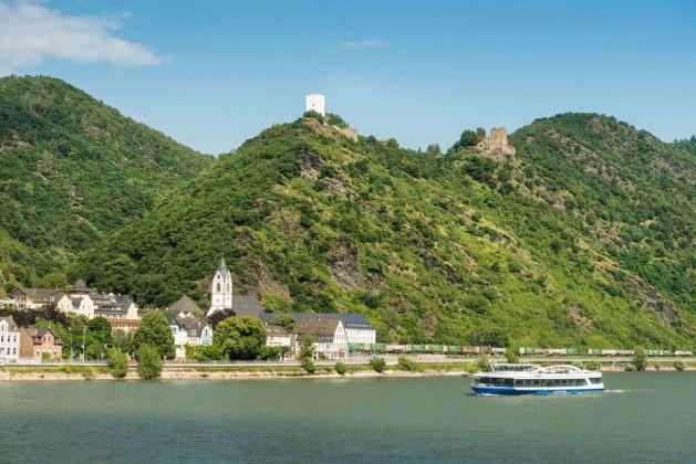Blick auf Kamp-Bornhofen. Foto: Romantischer Rhein Tourismus / Dominik Ketz