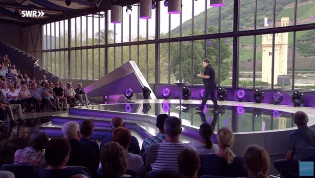 Binger Comedy Nights 2018 mit Marco Rima. Foto: SWR / Screenshot YouTube