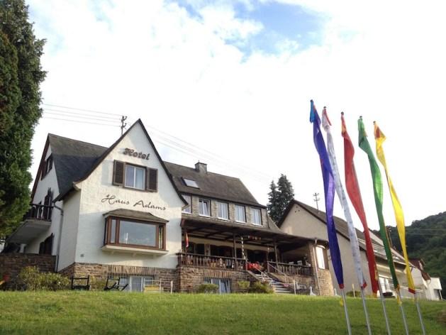 Basislager Boppard: Das Haus Adams.
