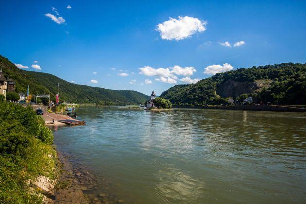 Fähranleger in Kaub. Foto: Romantischer Rhein Tourismus / Henry Tornow