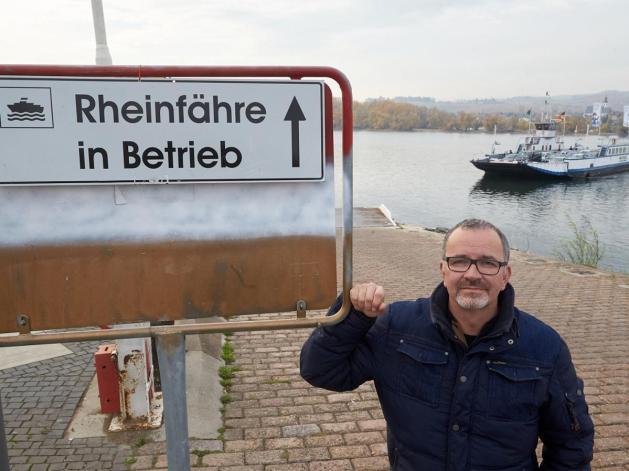 Michael Maul pendelt zwischen Ingelheim und Oestrich-Winkel. Foto: dpa/Thomas Frey