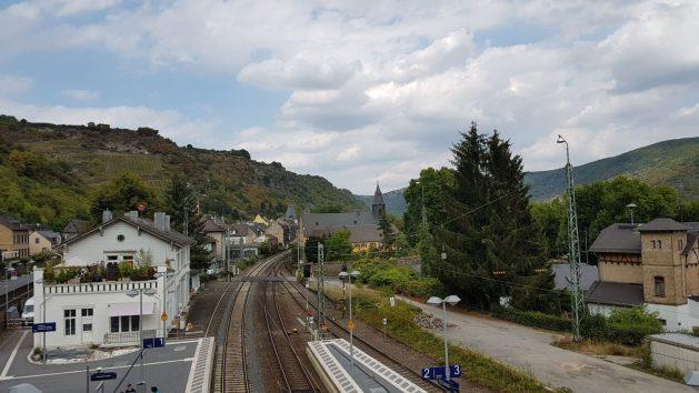 Bahnstrecke bei Bacharach. Foto: Frank Zimmer