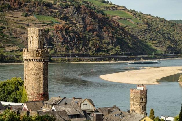 Hier wird's eng: Die Rheinkurve am Oberweseler Oelsberg. Foto: Dominik Ketz / Romantischer Rhein Tourismus.