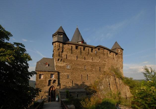 Burg Stahleck gehört dem Rheinischen Verein. Foto: Harald Nachtigall / Creative Commons / Wikipedia