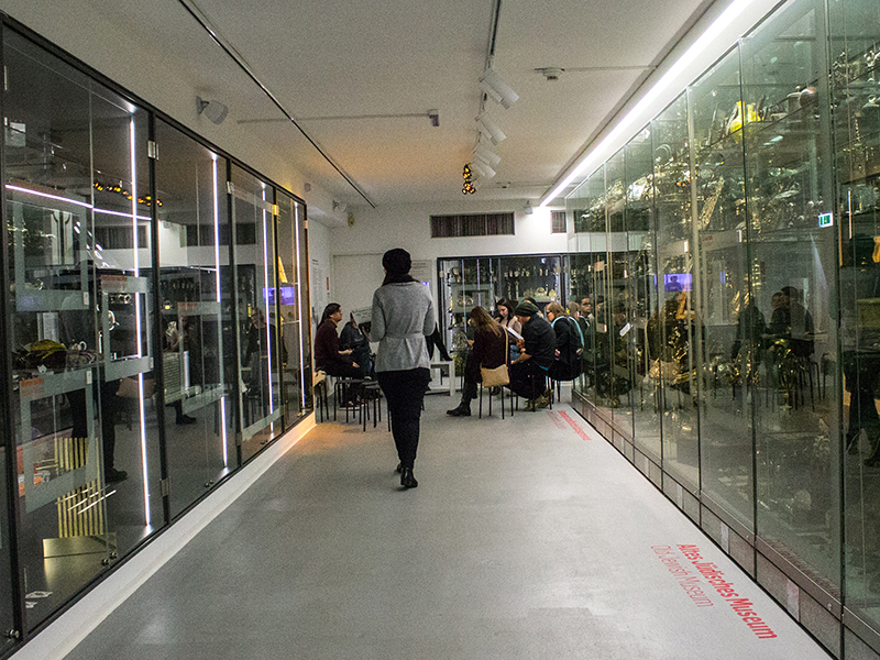 Schaudepot im jüdischen Museum