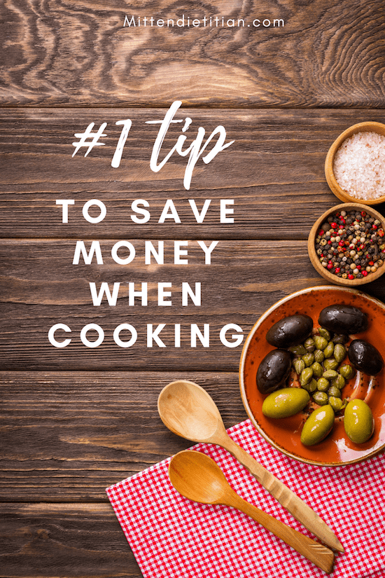 #1 tip to save money when cooking