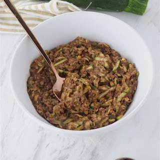 chocolate zucchini cauliflower oatmeal